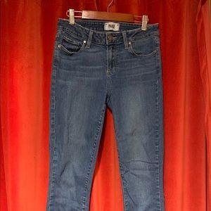 PAIGE medium wash jeans